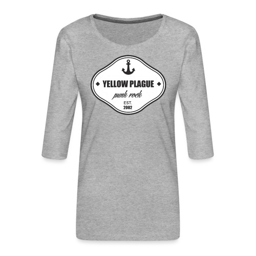 ankkuri - Naisten premium 3/4-hihainen paita