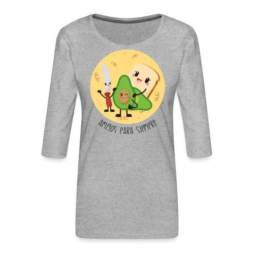 Amigos para siempre 2 - Camiseta premium de manga 3/4 para mujer