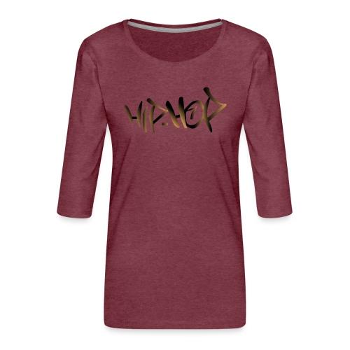 HIP HOP - Women's Premium 3/4-Sleeve T-Shirt