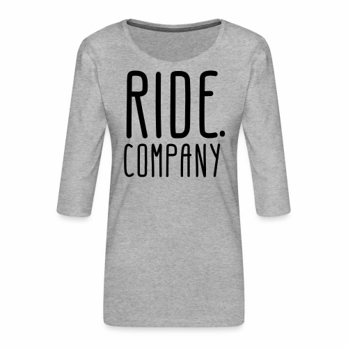 RIDE.company - just RIDE - Frauen Premium 3/4-Arm Shirt