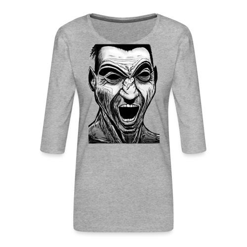 Marek's Head - Women's Premium 3/4-Sleeve T-Shirt