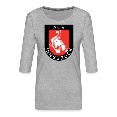 AC Vollkraft Logo - Frauen Premium 3/4-Arm Shirt