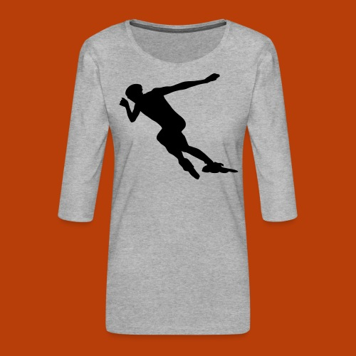 Speedskater - Frauen Premium 3/4-Arm Shirt