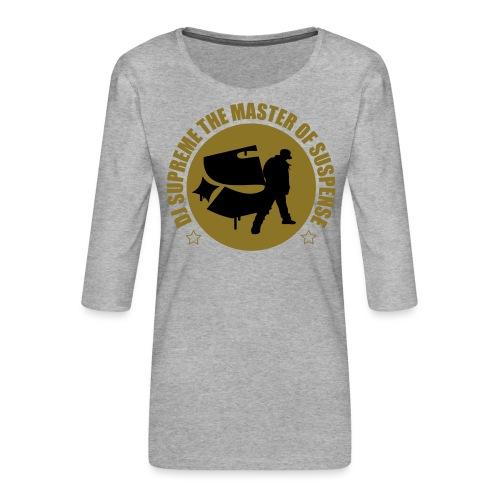 Master of Suspense T - Women's Premium 3/4-Sleeve T-Shirt