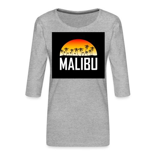Malibu Nights - Women's Premium 3/4-Sleeve T-Shirt