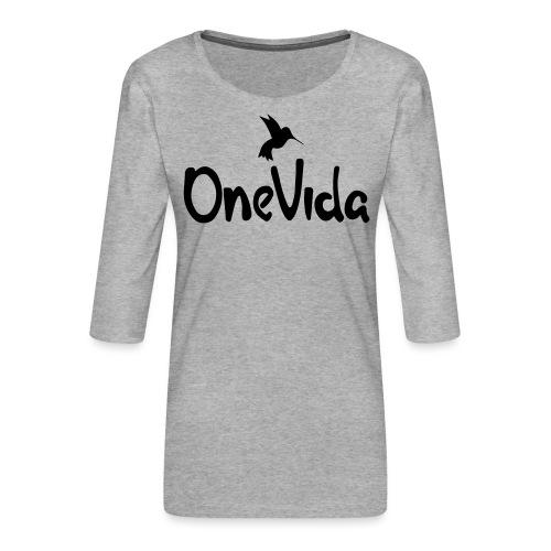 onevida - Vrouwen premium shirt 3/4-mouw