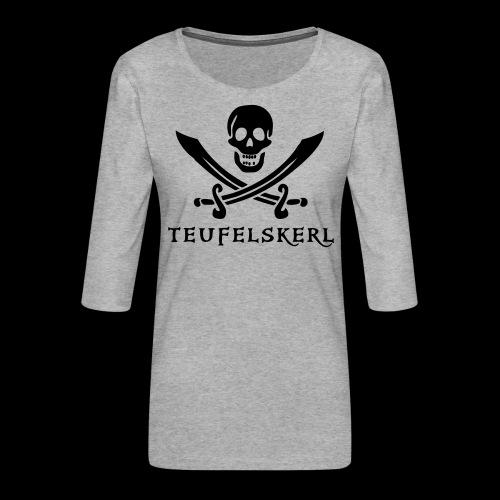 ~ Teufelskerl ~ - Frauen Premium 3/4-Arm Shirt