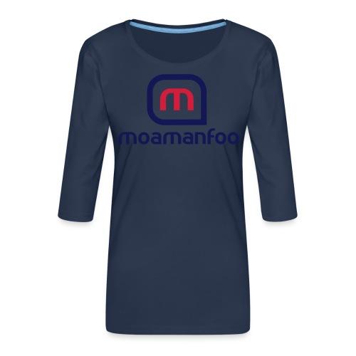 Moamanfoo - T-shirt Premium manches 3/4 Femme