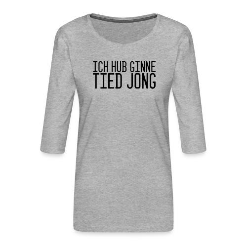 Ginne tied - Vrouwen premium shirt 3/4-mouw