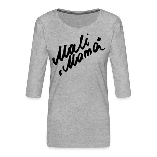 MaliMama - Frauen Premium 3/4-Arm Shirt