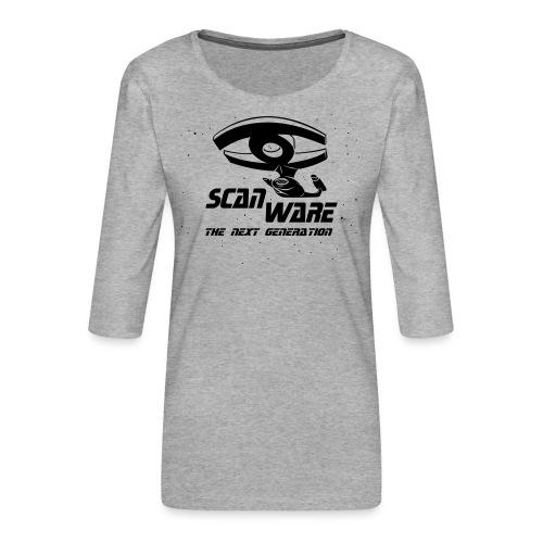 scanware azubiShirt - Frauen Premium 3/4-Arm Shirt