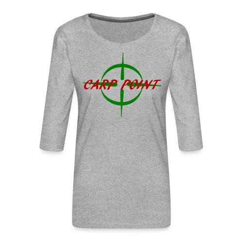 Carp Point T-Shirt - Frauen Premium 3/4-Arm Shirt
