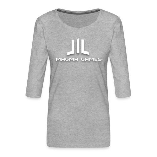 Magma Games Sweater - Vrouwen premium shirt 3/4-mouw