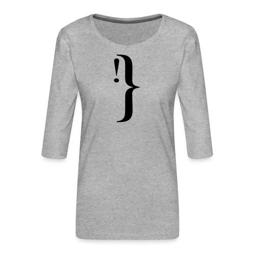 Diseño extracto - Camiseta premium de manga 3/4 para mujer
