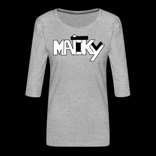 MaickyTv - Frauen Premium 3/4-Arm Shirt