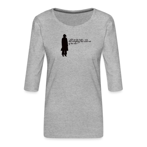 Porpentina (Tina) - T-shirt Premium manches 3/4 Femme