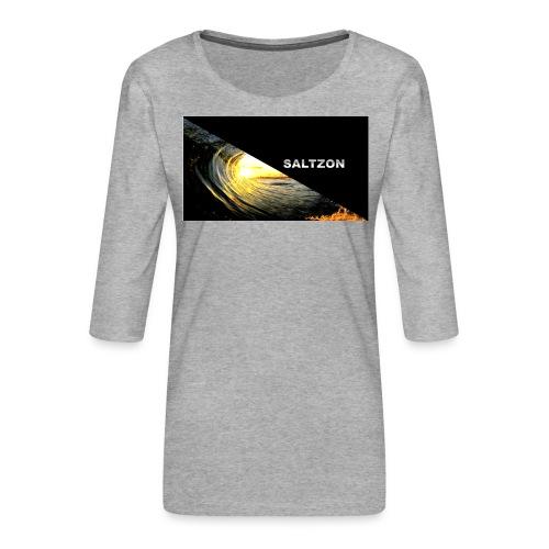 saltzon - Women's Premium 3/4-Sleeve T-Shirt