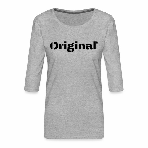 Original, by 4everDanu - Frauen Premium 3/4-Arm Shirt
