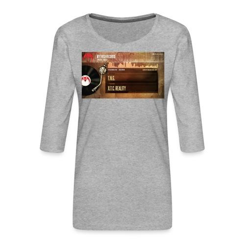 T.N.G. - X.T.C. Reality - Vrouwen premium shirt 3/4-mouw