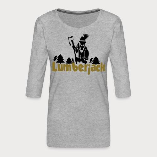 Lumberjack - Frauen Premium 3/4-Arm Shirt