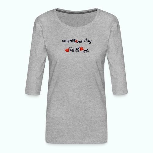 valenteens day - Frauen Premium 3/4-Arm Shirt