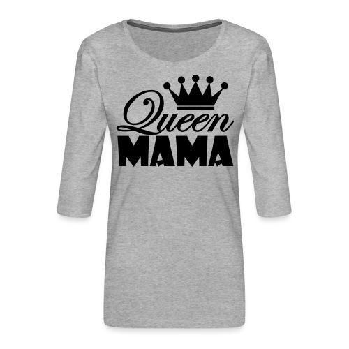 queenmama - Frauen Premium 3/4-Arm Shirt
