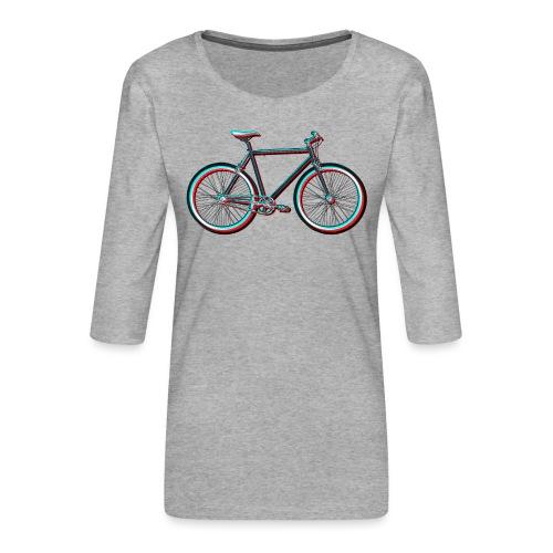 Single-Speeder - Frauen Premium 3/4-Arm Shirt