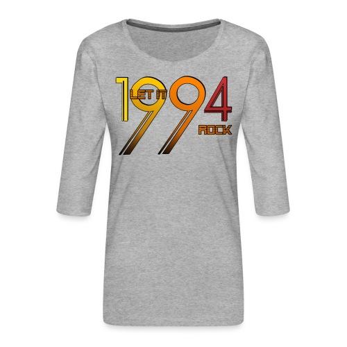 Let it Rock 1994 - Frauen Premium 3/4-Arm Shirt