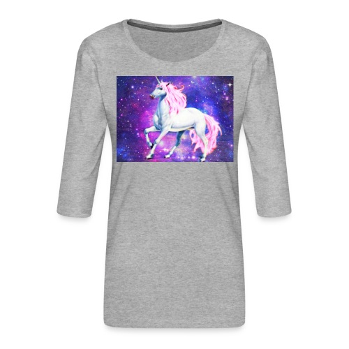 Magical unicorn shirt - Women's Premium 3/4-Sleeve T-Shirt