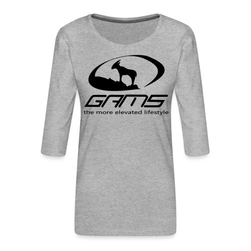 GAM5 - Frauen Premium 3/4-Arm Shirt
