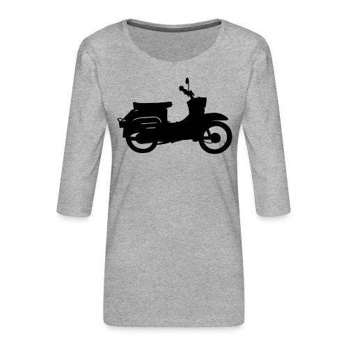 Schwalbe Silhouette - Frauen Premium 3/4-Arm Shirt