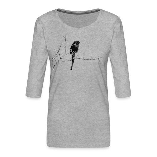 I like birds ll - Frauen Premium 3/4-Arm Shirt