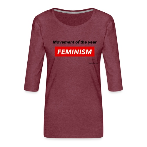 Feminism - Women's Premium 3/4-Sleeve T-Shirt