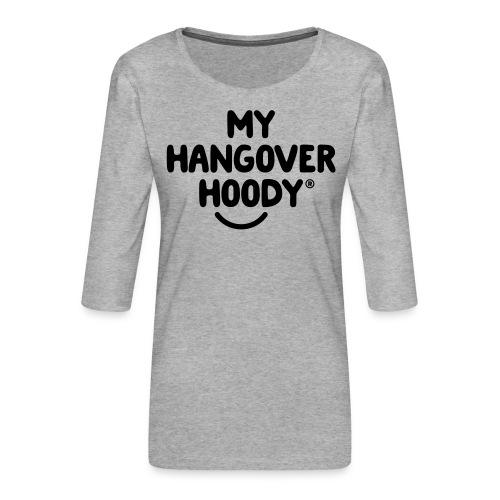 The Original My Hangover Hoody® - Women's Premium 3/4-Sleeve T-Shirt
