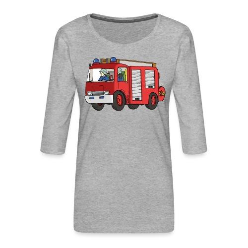 Engine 7 - Frauen Premium 3/4-Arm Shirt