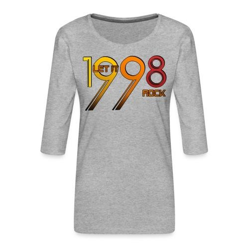 Let it Rock 1998 - Frauen Premium 3/4-Arm Shirt