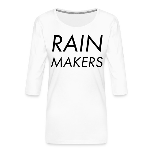 rainmakertext - Naisten premium 3/4-hihainen paita