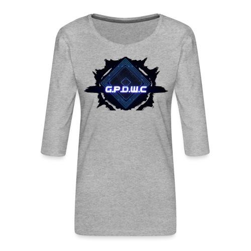 G.P.D.W.C - Company - Logo - Dame Premium shirt med 3/4-ærmer