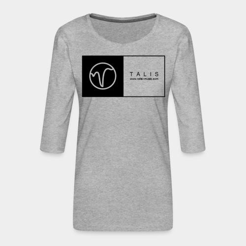 TALIS (2Quadrate) - Frauen Premium 3/4-Arm Shirt