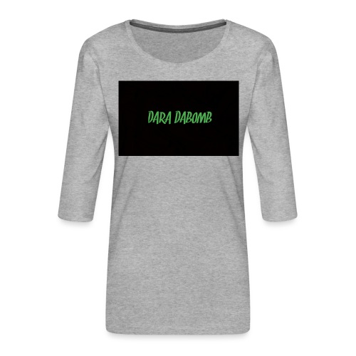 Blackout Range - Women's Premium 3/4-Sleeve T-Shirt