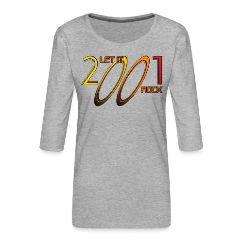 Let it Rock 2001 - Frauen Premium 3/4-Arm Shirt
