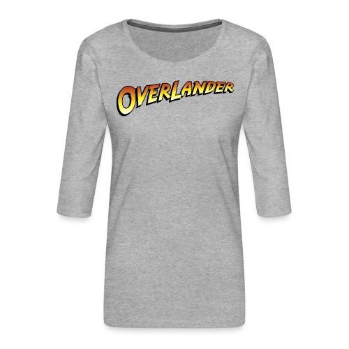 overlander0 - Premium T-skjorte med 3/4 erme for kvinner
