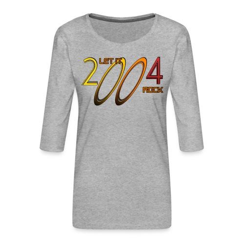 Let it Rock 2004 - Frauen Premium 3/4-Arm Shirt