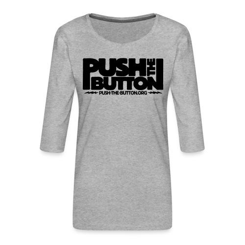 ptb_logo_2010 - Women's Premium 3/4-Sleeve T-Shirt