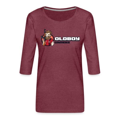 Oldboy Gamers Fanshirt - Premium T-skjorte med 3/4 erme for kvinner