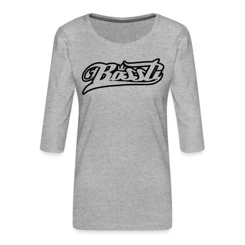 Bossti Hoodie - Frauen Premium 3/4-Arm Shirt