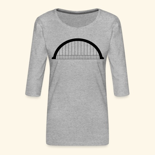 Morlet - T-shirt Premium manches 3/4 Femme