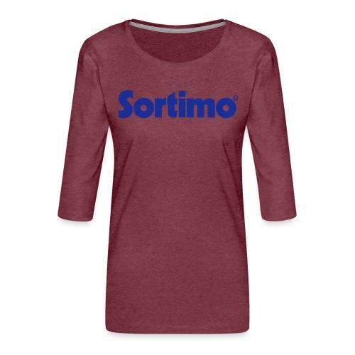 Sortimo - Premium-T-shirt med 3/4-ärm dam