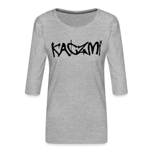 kaczmi - Koszulka damska Premium z rękawem 3/4