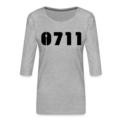 Baby-Mütze Stuttgart-0711 - Frauen Premium 3/4-Arm Shirt